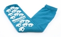 Picture of McKesson Slipper Socks, Above the Ankle, One Size Fits Most (Teal)(Pair) aka Non Slip Socks, No Slip Socks, Hospital Socks