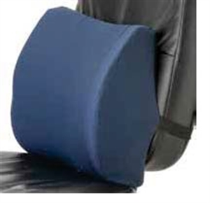 Picture of Memory Foam Lumbar Seat Cushion with Removable (Blue) Cover , Wheelchair Cushion, Car Seat Cushion, Lower Back Support, Lower Back Cushion