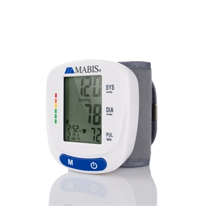 Picture of Mabis™ Standard Automatic Digital Blood Pressure Monitor (Wrist Style) aka At Home Blood Pressure Monitor, At Home Blood Pressure Kit, Automatic Blood Pressure Monitor