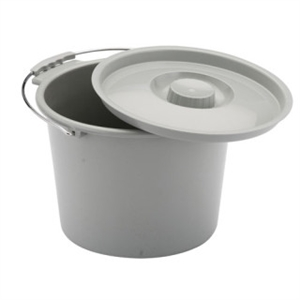 Picture of Nova Bedside Commode Replacement Bucket and Lid, Bath Safety Item #NO8450B