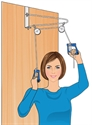 Picture of Nova Overdoor Exercise Set, Daily Living Aids, Over The Door Exercise Set, Nova 6061, Exercise Pulley Set