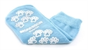 Picture of McKesson Terries Slipper Socks with Treads (Youth/Light Blue) aka Small No Slip Socks, Hospital Socks, Gripper Socks, McKesson 40-3849, Skid Resistant Tread Socks, MC38491200