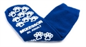 Picture of McKesson Terries Slipper Socks with Treads (Adult XL/Royal Blue) aka Large No Slip Socks, Hospital Socks, Gripper Socks, Grippy Socks, McKesson 40-3816, Skid Resistant Tread Socks, MC38161200