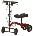 Picture of Nova Heavy Duty Knee Walker, Heavy Duty (Red), Knee scooter