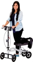 Picture of Nova Knee Walker with Brakes, Standard Height (Silver) aka Mobility Aid, Knee Scooter