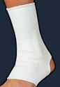 Picture of Elastic Ankle Support (White)(Medium) aka Ankle Sleeve, Medium Ankle Brace, Ankle Compression, Clearance Ankle Support
