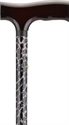 Picture of Nova Designer Aluminum Folding Cane (Leopard Print) aka Walking Cane, Printed Cane, Fashion Cane, Travel Cane