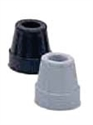 Picture of Nova Replacement Rubber Cane Tip aka Quad Cane Tips, Quad Cane Replacement Tips, Nova 5710 & 5610 Replacement ends (Black or Grey)