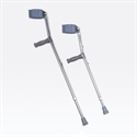Picture of Nova Aluminum Forearm Crutches (Pair) with Adustable Height, NO7710P and NO7711P