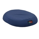 "Picture of Nova 18"" Molded Foam Ring Cushion with Removable Cover (Blue) aka Seat Cushion, Wheelchair Cushion"