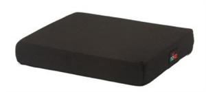 "Picture of Nova 3"" Foam Wheelchair Cushion with Removable Cover (Black) aka 18"" Seat Cushion"
