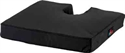 "Picture of Nova 18"" Foam Coccyx Seat Cushion with Cut-Out (18""x16""x3"") (Black Cover) aka Tailbone Cutout Seat Cushion, Wheelchair Cushion"