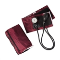 Picture of MatchMates® Sprague Rappaport-Type Combo Kit (Burgundy/Maroon) aka Mabis 01-360-071, nurse stethoscope kit, Medical Sphygmomanometer Kit