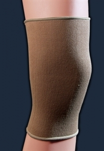 Picture of Elastic Knee Sleeve (Beige)(X-Large) aka XL Knee Support, XL Knee Brace