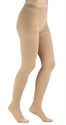 Picture of Microfiber Compression Hosiery (Size C) 20-30 mmHg aka Pantyhose (Beige) Compression Stockings, Unisex Compression Socks