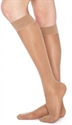 Picture of TheraLite Fashion Support Stockings 9-15 mmHg (Medium)(Knee High - Closed Toe)(Beige) aka Compression Stockings, Bell Horn Stockings, Travel Socks