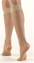 Picture of TheraLite Fashion Compression Stockings 15-20mmHg (Large)(Nude)(Knee High Closed Toe) aka Leg Wear, Large Support Stockings