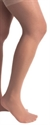 Picture of TheraLite Stockings Graduated Compression 20-30 mmHg (Medium)(Thigh High - Lace Top - Closed Toe)(Beige) aka Bell Horn Stockings, Compression Stockings, Edema Socks