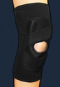 Picture of ProStyle® Lateral Patella Stabilizer Sleeve with Side-Pull Compression Strap (Left)(Medium) aka Medium Knee Brace, LCL Brace