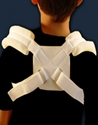 Picture of Junior Clavicle Support (choose Pediatric or Youth) aka Posture Corrector, Kids Collar Bone Brace, Kids Posture Correction