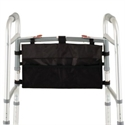 Picture of Walker Accessory Bag (Black) aka Bags for Folding Walkers, Walker Accessories