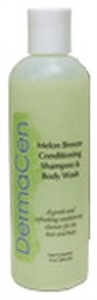 Picture of DermaCen Melon Breeze Conditioning Shampoo & Body Wash (9oz) aka Convalescent Wash, Incontinent Cleanser