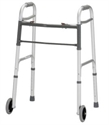 "Picture of Nova Petite Floding Walker with 5"" Front Wheels (user height 5' - 5'5"") aka youth walker with wheels"
