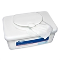 Picture of Wings Cleansing Washcloths (Tub of 64) aka Adult Washcloths, Adult Cleansing Wipes, Incontinent Wipes