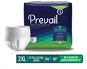 "Picture of Prevail® Protective Underwear Maximum Absorbency XX-Large 64""-80"" (Pack of 12) aka Bariatric Pull ups, Prevail Daily Underwear"