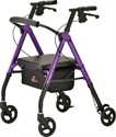 Picture of Nova Star 6 Rollator, aka Rolling Walker with a Seat, Walker with Wheels, Please Choose Color