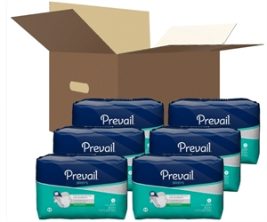 Picture of Prevail® Adult Briefs (Small)(Case of 96) aka Small Adult Diapers, Adult Incontinence Products, Small Briefs,