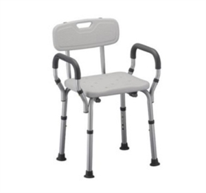 Picture of Deluxe Bath Seat with Removable Arms and Back aka shower chair with arms