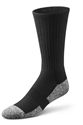 Picture of Dr. Comfort Diabetic Crew Socks (Black)(Medium) Bell Horn 11710 replacement softstep Medium diabetic socks