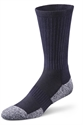 Picture of Dr Comfort Diabetic Crew Socks (Navy Blue)(Medium) Bell Horn 11710 replacement softstep Medium diabetic socks, Dr Comfort Socks