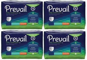 Picture of Prevail® Protective Underwear Adult Medium aka Pull-up Extra Absorbency (Case of 80) adult pull up