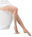 Picture of Dr Comfort Select Sheer Graduated Compression Stockings 15-20 mmHg (Medium)(Thigh-High Lace-Top Closed-Toe )(Nude) aka Compression Legwear, Thigh High Stockings, Dr Comfort Stockings, Previously BH11925M