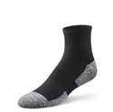 Picture of Dr Comfort Diabetic Ankle Socks (Large)(Black)(pair) aka Diabetic Foot Care