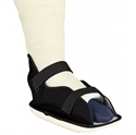 Picture of Rocker Bottom Cast Boot with Canvas Upper (Large) Bell Horn 81117, Post Op Shoe, Rocker Cast Boot, Cast Walker