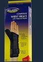 Picture of Composite Wrist Brace with Abducted Thumb (X-Large/Left) aka Left Arm Wrist Brace, abducted thumb brace, Trigger Thumb Splint